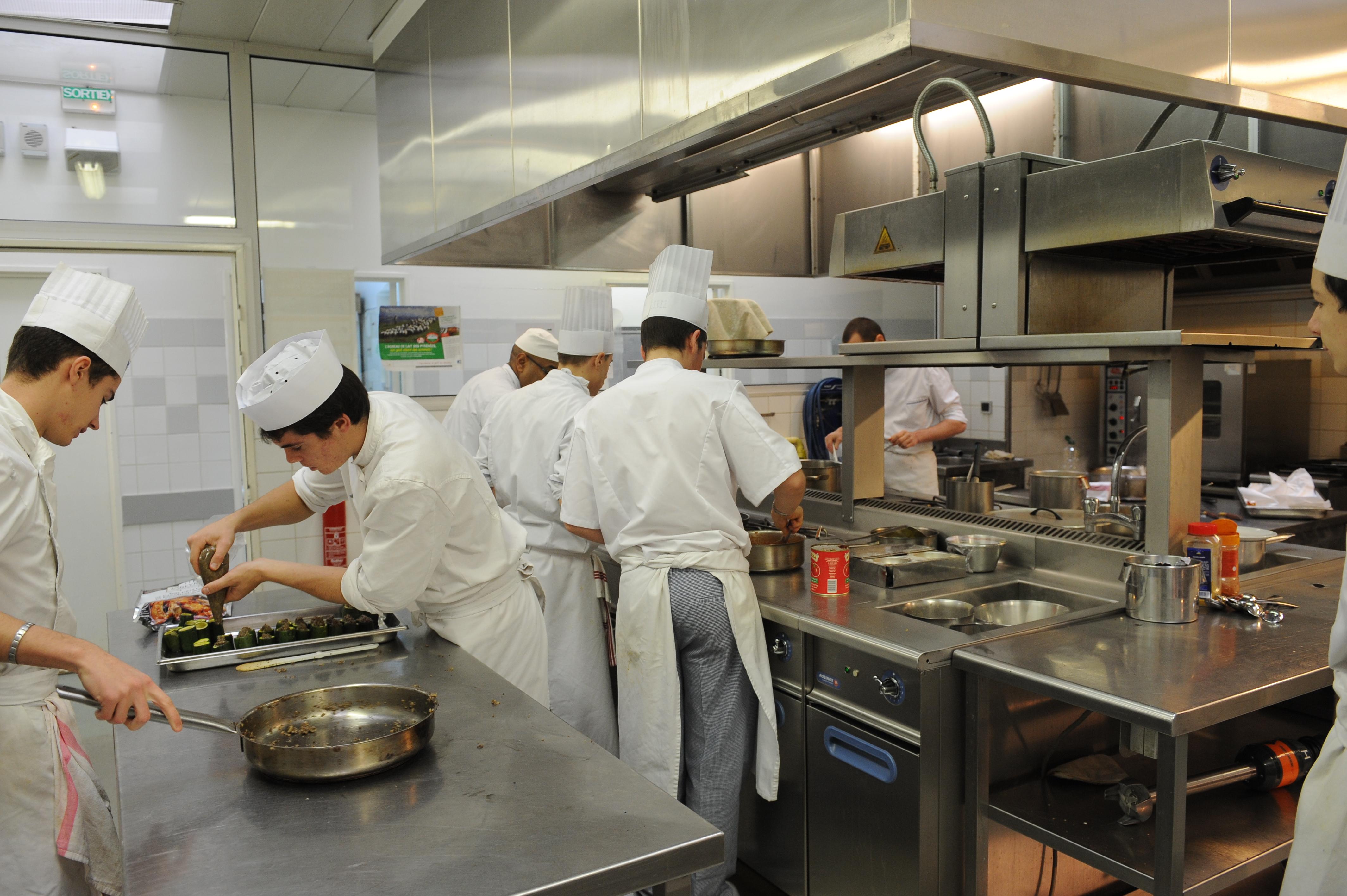 Bac pro cuisine lyc e de gascogne - Brevet professionnel cuisine ...